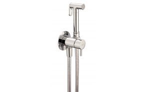 upotettava bidet/käsisuihkusetti kylmävesihanan ja 120 cm suihkuletkun kera