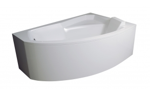 kylpyamme Interia Bella 130P, 135 l, 1300 x 850 mm, oikea