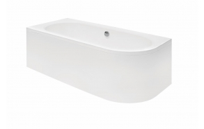 kylpyamme Interia Avito 150 P, 165 l, 1500 x 750 mm, vasen