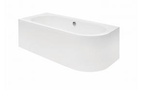 kylpyamme Interia Avito 150 P, 165 l, 1500 x 750 mm, oikea