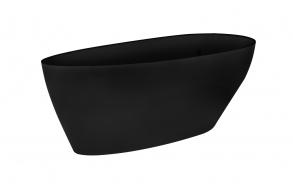 kylpyamme Interia Goyo 160BL, 170 l, 1600 x 706 mm, musta