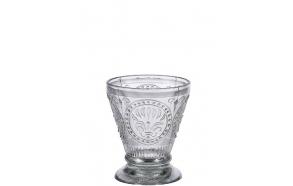 10 cm lasinen muki, valmistettu käsin Intiassa