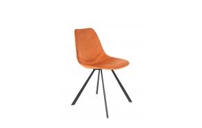 tuoli Franky Velvet, oranssi