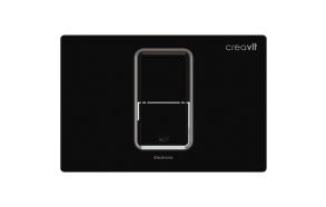 kosketusvapa huutelupainike Creavit Photocell, musta, sähköasennus