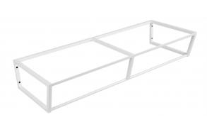 metallinen pesuallasrakenne Ska, 120 cm, mattavalkoinen