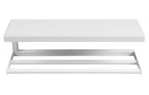 pyyheteline-hylly Ska, mattavalkoinen ja valkoinen MDF