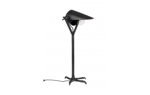 pöytälamppu Falcon, musta