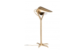 pöytälamppu Falcon, messinki