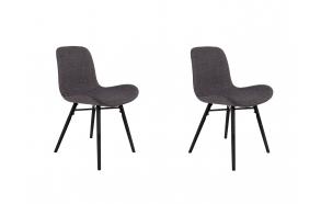 setti: 2 tuolia Lester, antrasiitti