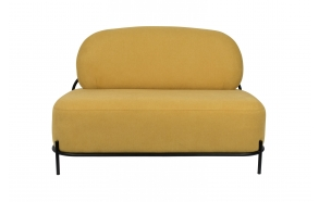 sohva Polly, keltainen