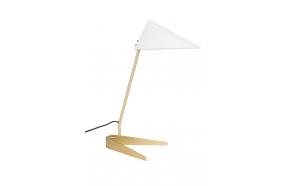 pöytälamppu Lizzy, valkoinen