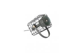 pöytälamppu Cage, musta