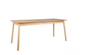 ruokapöytä Gimps 180/240x90 cm, luonnollinen