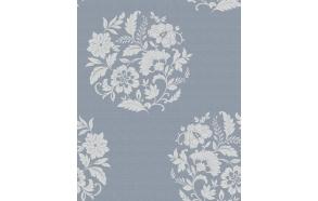 Floral Motif , Blue