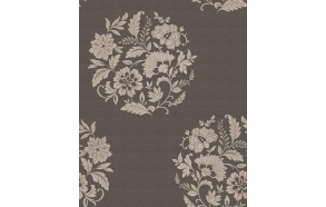 Floral Motif , Chocolate