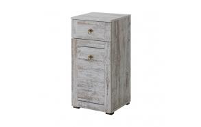 sivukaappi Interia Provence, 40x80x35 cm, mänty antiikki