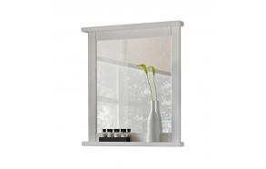 peili Interia Romantic, 70x80x8 cm, valkoinen
