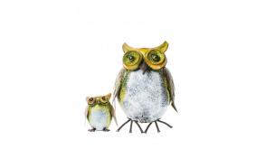 roskakori OWL + pieni koristeellinen pöllö