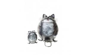 roskakori CAR + pieni koristeellinen kissa