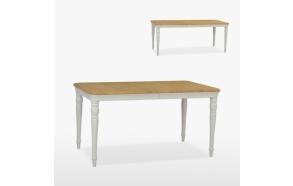 ruokapöytä Cromwell 1 jatkeella, 150/190 cm