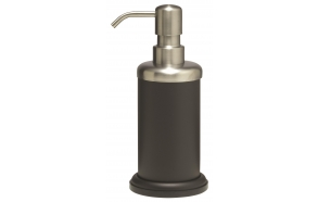 ACERO metallinen nestesaippuapumppu, musta