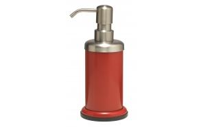 ACERO metallinen nestesaippuapumppu, punainen