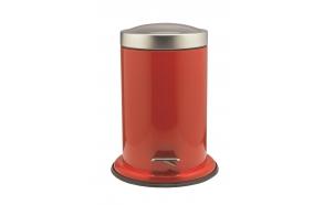 ACERO metallinen roskakori, punainen