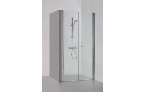 Suihkuovi ja -seinä suihkusyvennyksiin Brasta GERDA