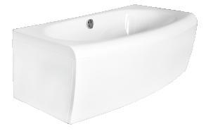 Kylpyamme Interia Milena 160, 160x75 cm