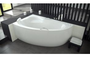 kylpyamme Interia Natalie 150R, 150x100 cm, oikea