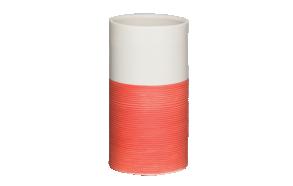 punainen muki DOPPIO, käsin valmistettua keramiikkaa