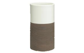 ruskea muki DOPPIO, käsin valmistettua keramiikkaa