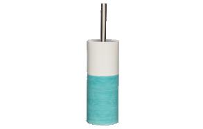 sininen wc-harja DOPPIO, käsin valmistettua keramiikkaa