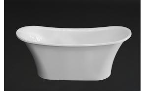 kivimassa kylpyamme Rosalinda, 159x65 cm, ilman ylivuotoa tai ylivuodon kanssa