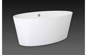 kivimassa-amme Vanity, 159x72 cm, ilman ylivuotoa tai ylivuodon kanssa