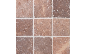 Square Coco Brown marble 100x100mm, no mesh