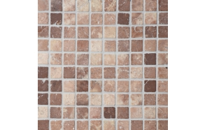Square Coco Brown marble 30x30mm