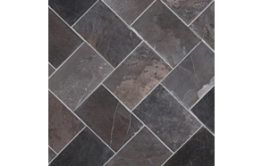 Herringbone 100x150mm, Grey, no mesh