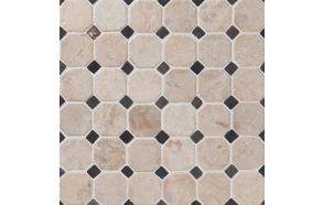 Classic Pattern 50x50mm White-Grey