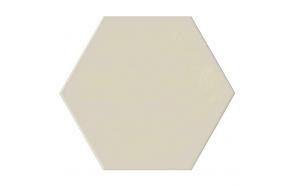Hexagon Bone, glazed porcelain tile, suitable for public use