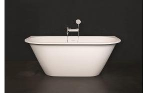 kivimassa kylpyamme Varia Silkstone, mattavalkoinen