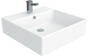 pesuallas Creavit Nexus 50x50 cm, valkoinen