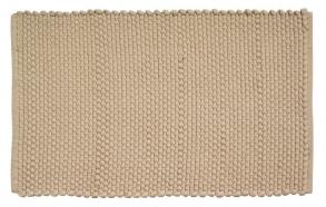 Kylpyhuonematto Cotton Corda, sandy