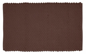 Kylpyhuonematto Cotton Corda, ruskea