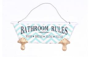 Bathroom Rules juliste