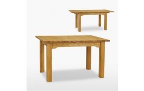 jatkettava ruokapöytä Reims yhdellä jatkokappaleella, 130/170 cm