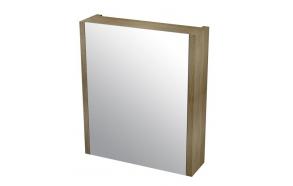 peilikaappi Larita 60 cm, tammi Graphite