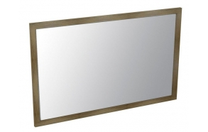puukehyksinen peili Larita 120 cm, tammi Graphite