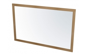 puukehyksinen peili Larita 120 cm, tammi Natural