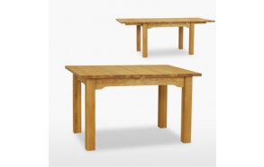 jatkettava ruokapöytä Reims kahdella jatkokappaleella, 160/200/240 cm